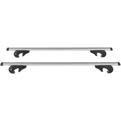 Barra portaequipaje aluminio 107 cm gris