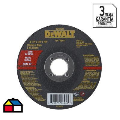 "Pack 50 discos corte metal 4,5"" grano abrasivo"