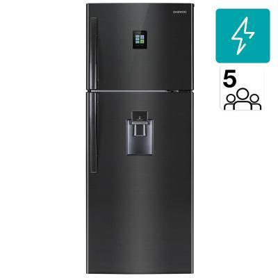 Refrigerador no frost top mount freezer 468 litros negro