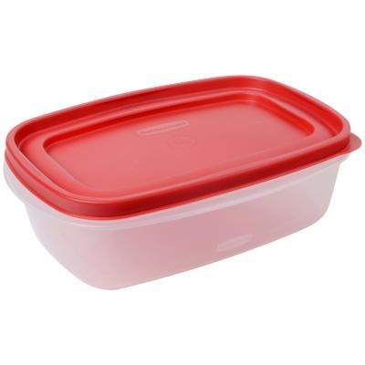 Contenedor de Alimentos 2Lts Plástico 18,5x8,54x26,7 cm
