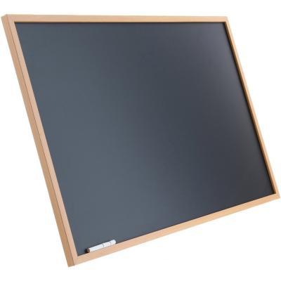 Pizarra negra con atril 50x80 cm