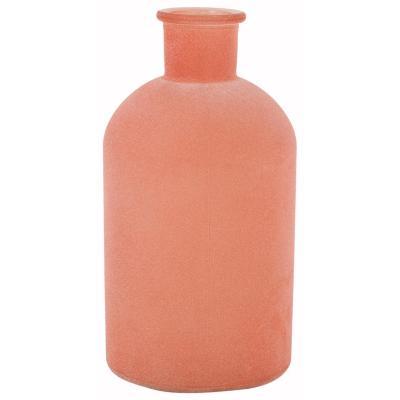 Botella decorativa vidrio colores surtidos
