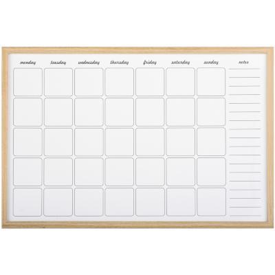 Pizarra calendario 40x60 cm