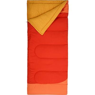 Saco de dormir 217x72 cm poliéster Apricot