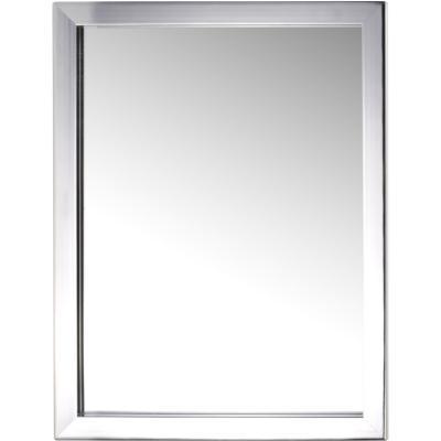 Espejo 40x30cm rectangular cromado