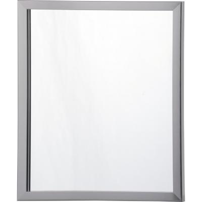 Espejo 40x30cm rectangular grafito