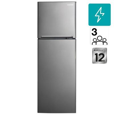 Refrigerador no frost top mount freezer 249 litros gris