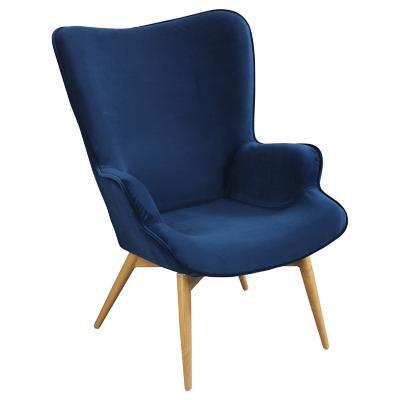 Poltrona Leg 70x74x90 cm azul