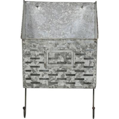 Buzón 33,5x12,5x20,5 cm gris