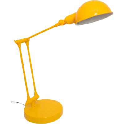 Lámpara de escritorio Kansas amarilla 1 l E14 25 W