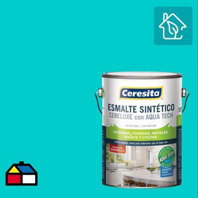 Esmalte Sintetico Cereluxe Aquatech Semibrillo Calipso 1 gl