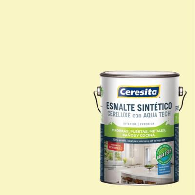 Esmalte sintético 1 galón semibrillo marfil