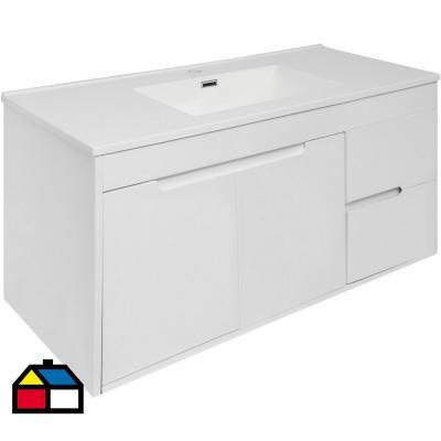 Vanitorio Almada 100x55x46 cm blanco
