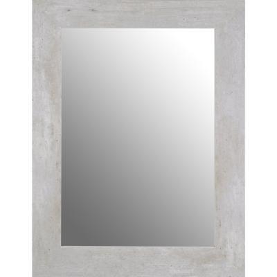 Espejo 80x60 cm concreto