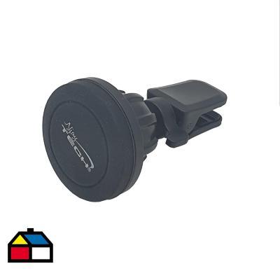 Soporte imantado de celular para auto negro