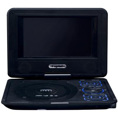 DVD portátil 7'' negro