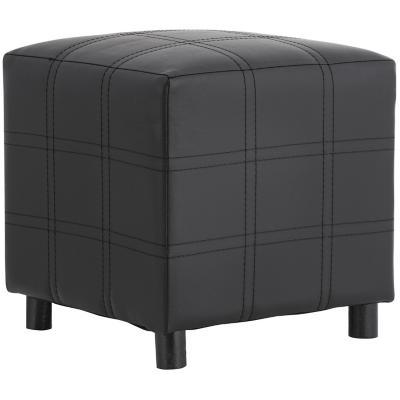 Pouf 35x35x35 cm negro