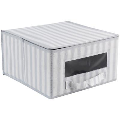 Caja con tapa gris 30x16x30 cm