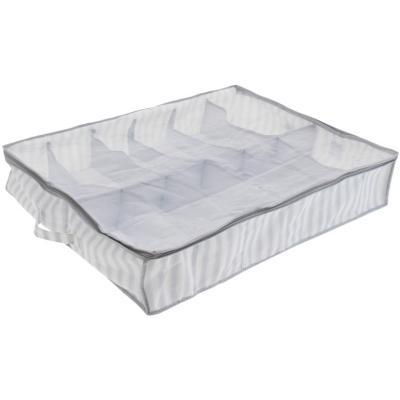 Caja organizadora de sostenes gris 58x15x74 cm