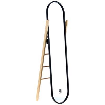 Espejo hub con atril y porta ropa 159x41 cm