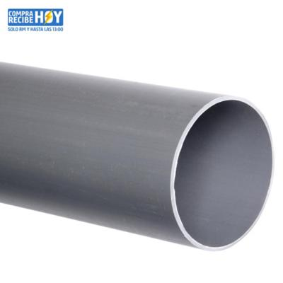Tubo PVC-S 75mm x 6m  Gris Cementar