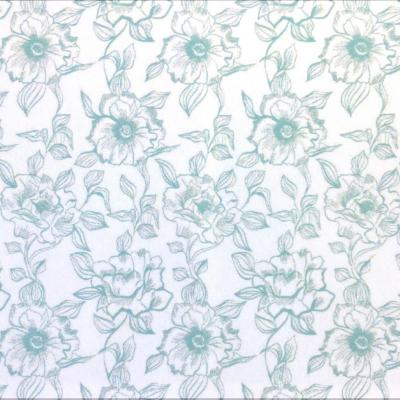 Papel Adhesivo English Rose Blue 2,7mt x 0,45 mt