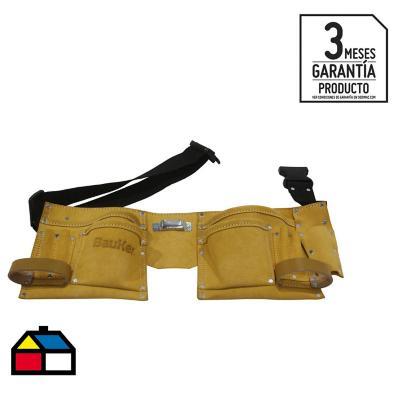 Cinturón porta herramientas 11 bolsillos