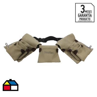 Cinturón porta herramientas 13 bolsillos