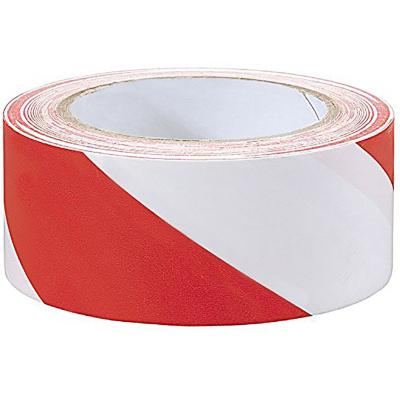 Cinta demarcatoria blanco-rojo 50mm x33m