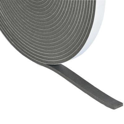 Alseal espuma md 1c negra - 6mm x 25mm x 12m