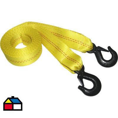 Correa de arrastre 1500 kg 5 m polietileno amarillo