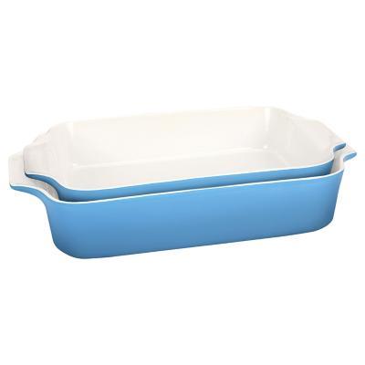 Set de fuente 33 cm + fuente 38 cm azul