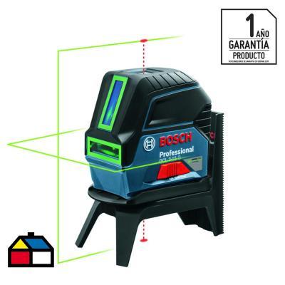 Nivel láser verde 2 lineas 15m y puntos 10m