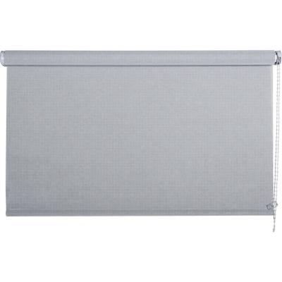 Cortina enrollable sun screen 75x250 cm plata