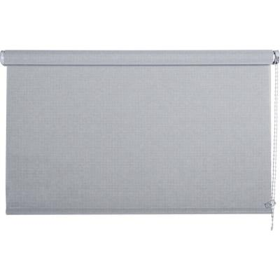 Cortina enrollable sun screen 90x190 cm plata