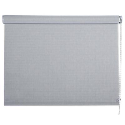 Cortina enrollable sun screen 120x190 cm plata