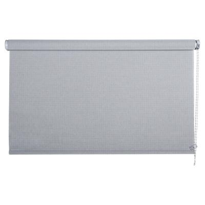 Cortina enrollable sun screen 135x190 cm plata
