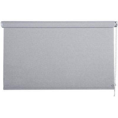 Cortina enrollable sun screen 220x250 cm plata