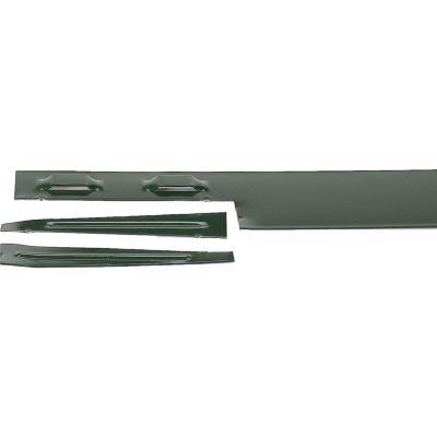 Solerilla metálica verde 200x10 cm