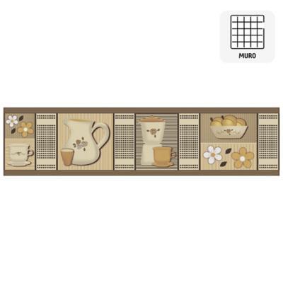 Listel Tamiko café 8,7x35 cm
