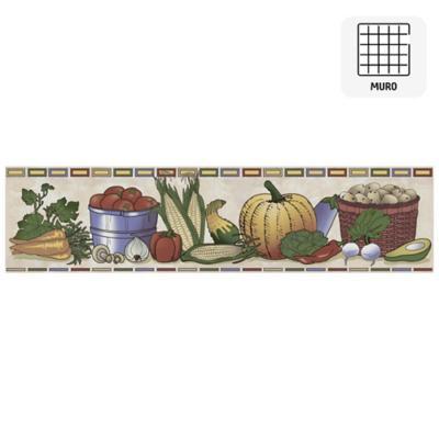 Listel Vegetales 8,7x35 cm