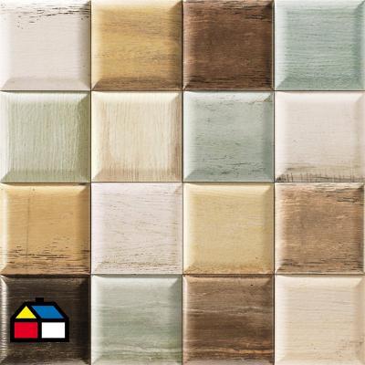 Cerámica Muro 15x15 cm Soho mix 0,50 m2