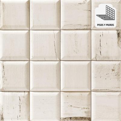Cerámica 15x15 cm Soho blanco 0,50 m2