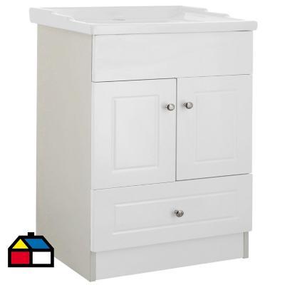 Mueble vanitorio 60x80x47 cm Blanco