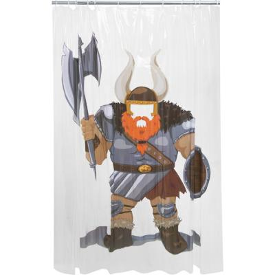 Cortina de baño pvc Vikingo