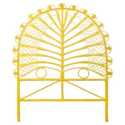 Respaldo 105x5x120 cm amarillo