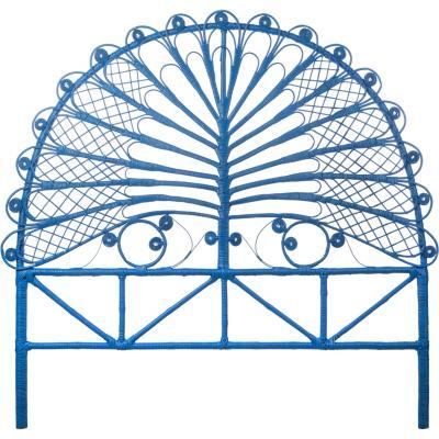 Respaldo 140x150x5 cm azul