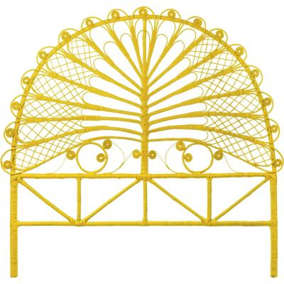 Respaldo 140x150x5 cm amarillo