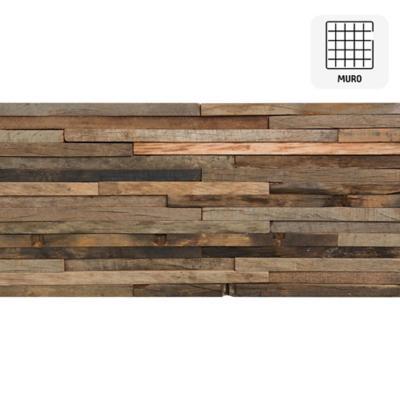 Malla 30x60 cm madera bote natural