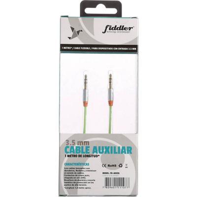 Cable audio verde